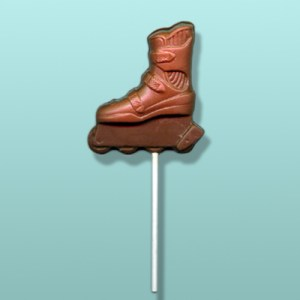 Chocolate Inline Skate Party Favor