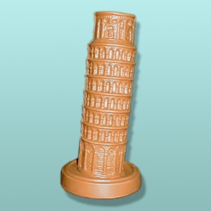 Chocolate Leaning Tower Centerpiece