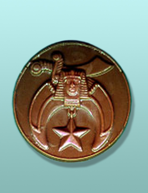 Chocolate Mystic Emblem Medallion