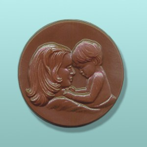 Chocolate Mother and Son Favor