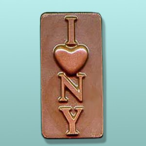 Chocolate I Love NY Favor