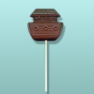 Chocolate Noah's Ark Lolly