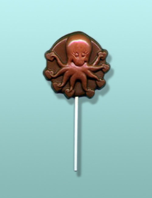 Chocolate Octopus Lolly