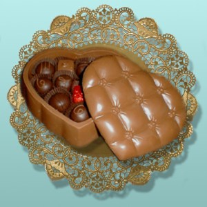 Chocolate Edible Valentine Boxes