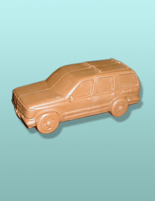 Chocolate Sports Utility Vehicle