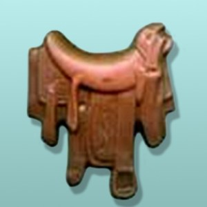 Chocolate Horse Saddle Favor