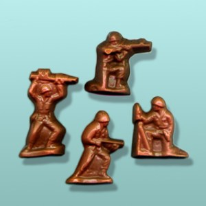 Chocolate Toy Soldier Favor