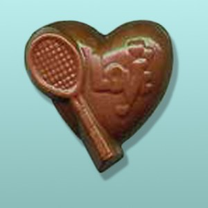 Chocolate Tennis Love Party Favor