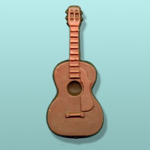 Chocolate Acoustic Guitar Instrument