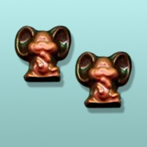 "2 pc. Chocolate Mice ""All Ears"" Favor"