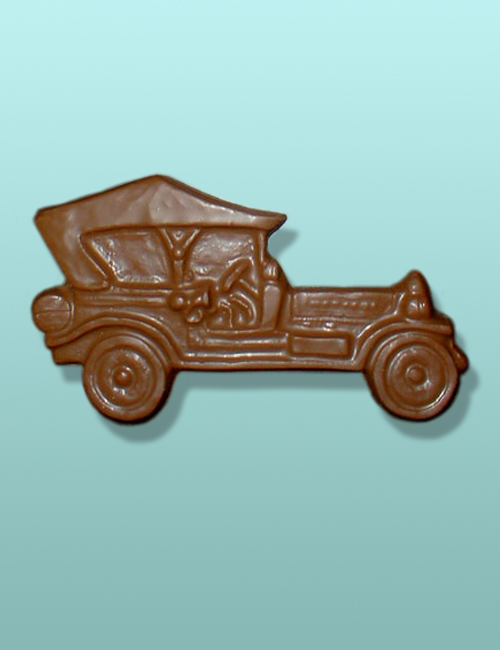 Chocolate Antique Car I