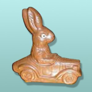 3D Chocolate Auto Bunny