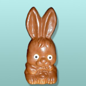 3D Chocolate Baby Bunny with Basket