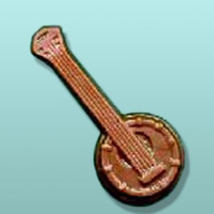 Chocolate Banjo Instrument Favor