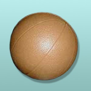 3D Solid Chocolate Basketball