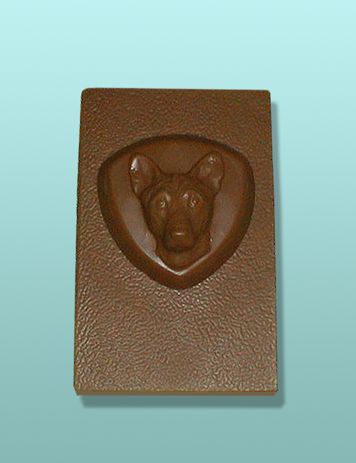 Chocolate Basenji Dog Flat Plaque