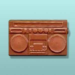 Chocolate Boom Box Radio Favor
