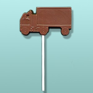 Chocolate Cube Truck Van Lolly