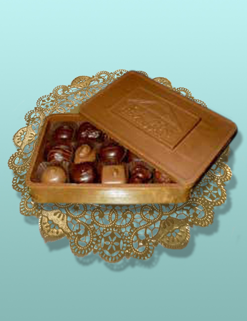 Edible Chocolate Gift Box with Message Card