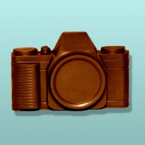 Chocolate Camera Party Favor