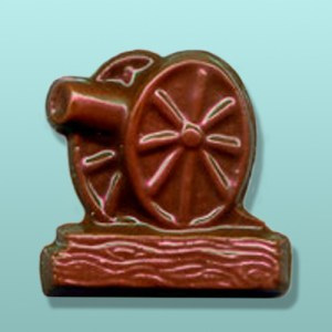 Chocolate Civil War Cannon Favor