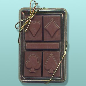 Chocolate Card Symbols Mini Gift Set