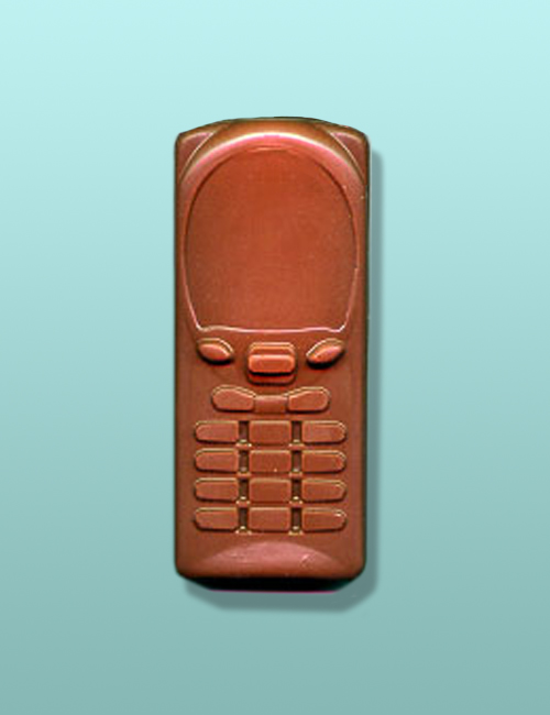 Chocolate Cellular Phone Party Favor