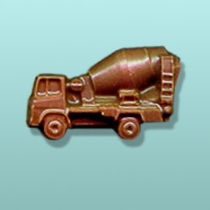 Chocolate Cement Truck Mini Favor