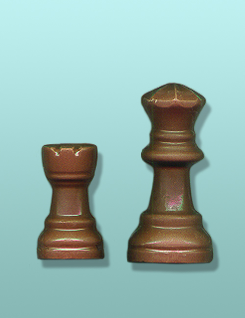 2 pc. Chocolate Chess Piece Party Favor I