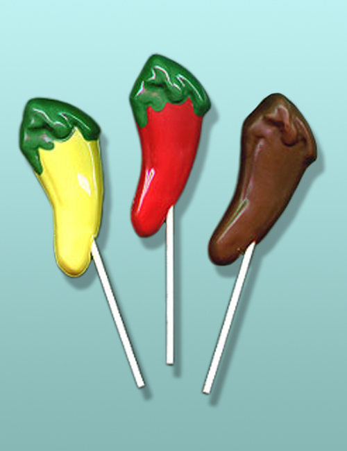 Chocolate Chili Pepper Party Favor