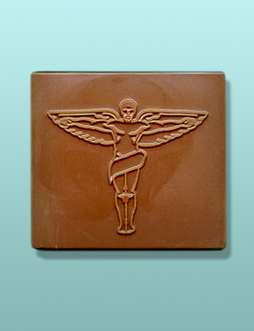 Chocolate Chiropractor Symbol Plaque
