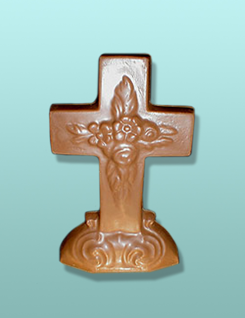 Chocolate Easter Large Cross