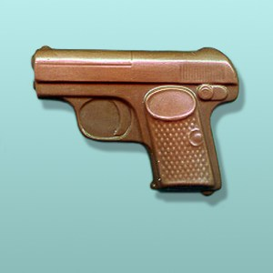 Chocolate Secret Agent Gun Favor