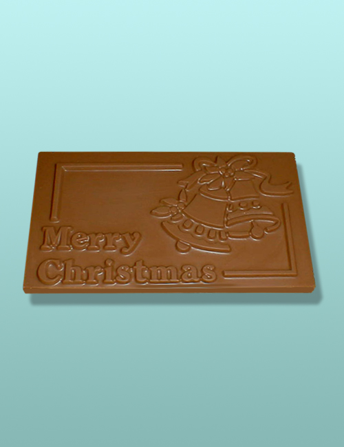 Chocolate Christmas Bells Plaque