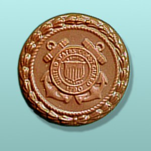 Chocolate Coast Guard Medallion Favor
