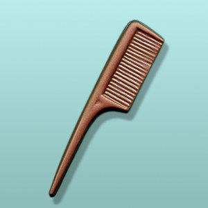 Chocolate Comb Party Favor