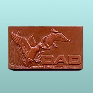 Chocolate Dad Mallard Plaque