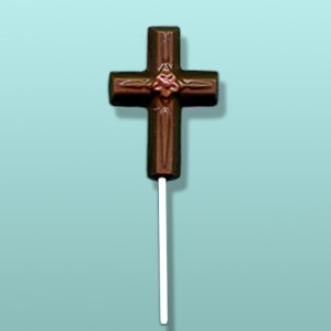 Chocolate Daisy Cross Lolly