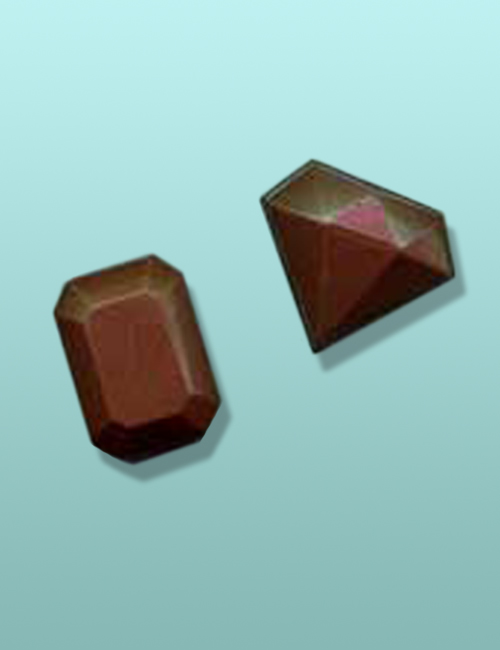 Chocolate Diamond and Emerald