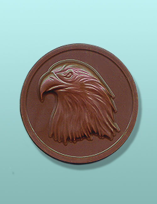 Chocolate American Eagle Medallion