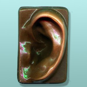 Chocolate Human Ear Favor