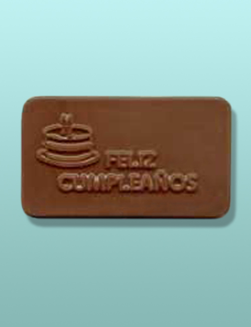 Chocolate Feliz Compleanos Mini Card