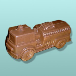 3D Chocolate Fire Engine Truck
