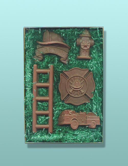 Chocolate Fire Fighter Gift Set