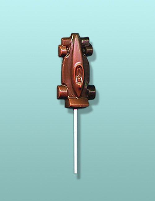 Chocolate Formula One Race Car Lolly