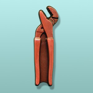 Chocolate Gas Pliers Tool Favor