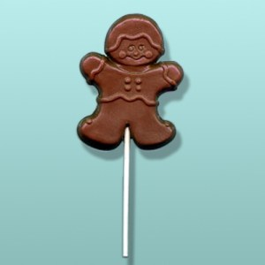 Chocolate Gingerbread Boy Favor