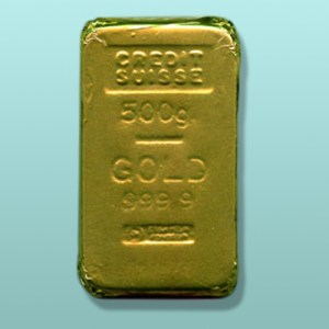 Chocolate Gold Bar Brick