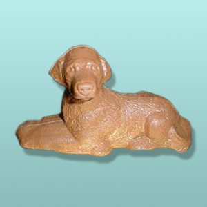 3D Chocolate Golden Retriever Dog