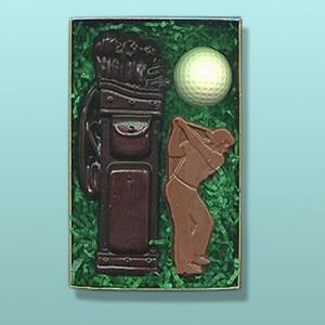 3 pc. Chocolate Golf Gift Set